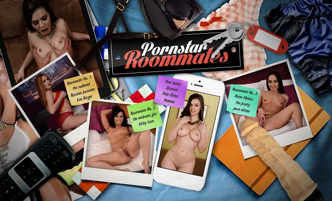 Pornstar Roommates [LifeSelector,lifeselector] (2016)