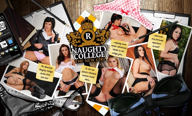 Naughty College - The New Girl [21Roles] [SuslikX]