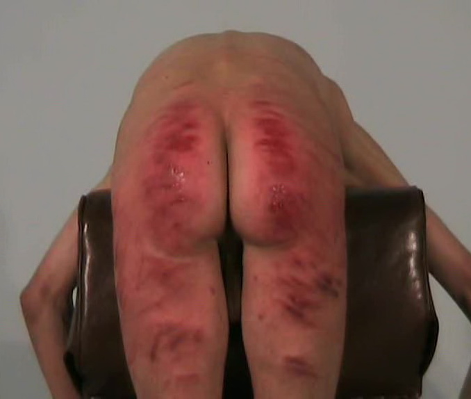 Caned Male Ass 100