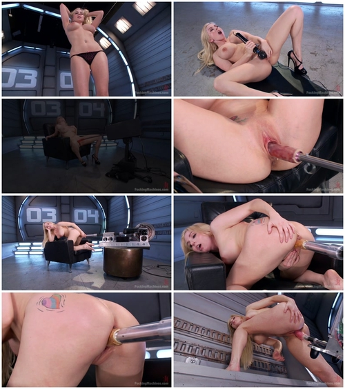 Christie Stevens (Hot Blonde, Big Tits, and a Sweet Pussy) BDSM, Fuck Machine