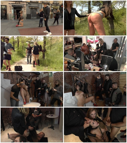 Mona Wales And Klara Gold (Busty Klara Gold Fucked Hard Outdoors) BDSM, Public Sex, Humiliation, Outdoor, BJ, Hardcore, All Sex