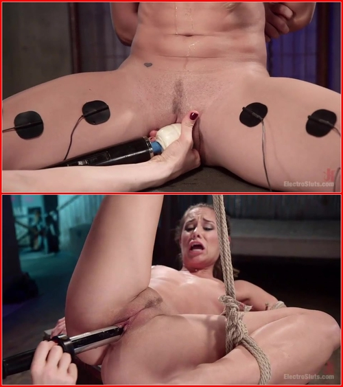 Lorelei Lee and Cassidy Klein (Electro Virgin 2.07.2015) BDSM, Bondage, Electric, Lesbians