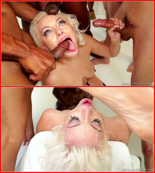Jenna Ivory – Interracial, Natural tits, Big Tits, Deepthroat, Facial, Gonzo, Blowjob, Big Dick, Cum swallow, Blonde