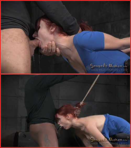 Redheaded sex siren Violet Monroe trained on 10 inch BBC, epic bondage deepthroat! – BDSM, Bondage, Domination, All sex