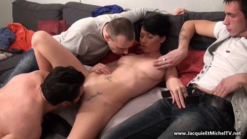 Free gangbang porn videos at Mom and Son Streaming