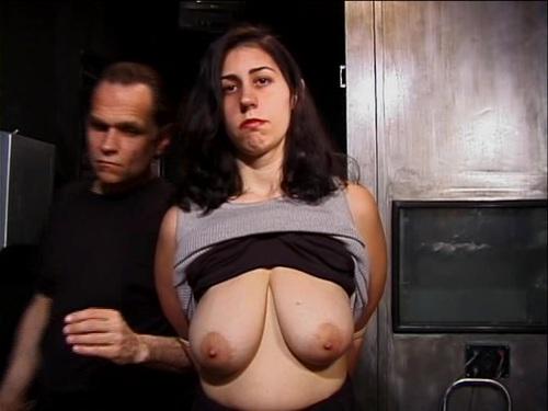 Extreme BDSM Bondage Kreuzigung Folter