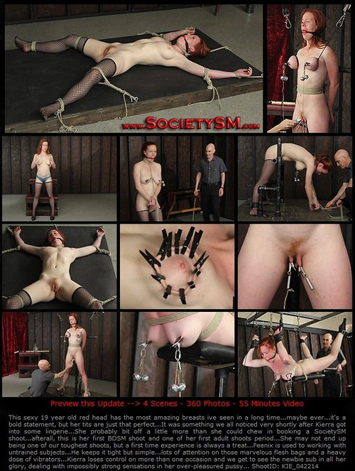 "SSM – Kierra Wilde / ""Her Only First Time"" / 720p"