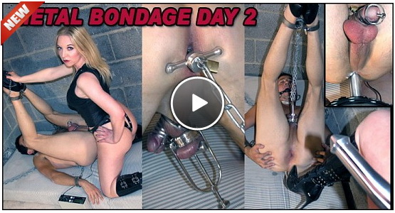 Metal Bondage Day 2