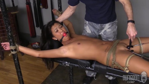 Chinese girls in bondage