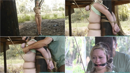 Outdoor Afternoon Agony for Lexi Lane – Part 2 panties, slapping, pain, crotch rope