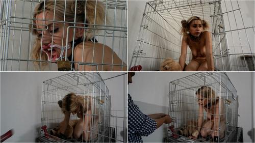 Nina bondage Cage