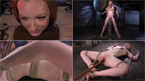 Katy Kiss (Brand New Red Head in Brutal Bondage, Suffering, and Made to Cum 24.03.2016)