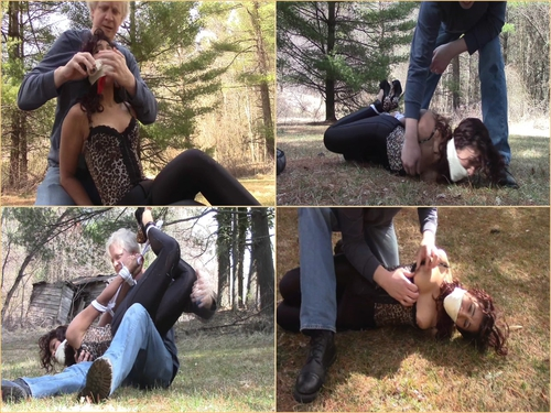 Hogtied In The Grass