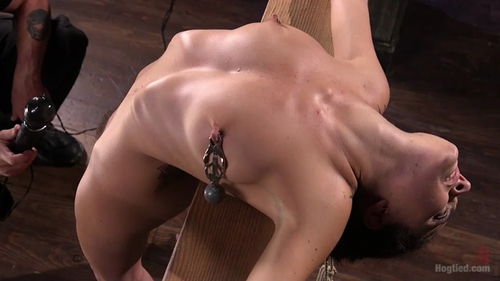 College GirlPain Slut Suffers in Extreme Bondage And Brutal Domination