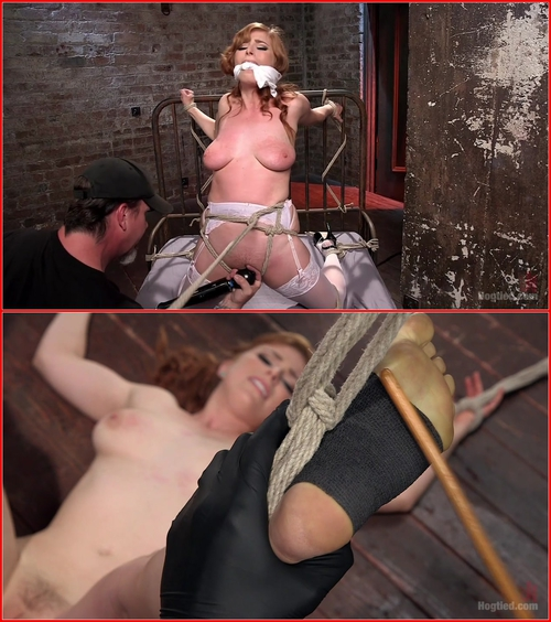 Penny Pax (Red Headed Anal Queen is Helpless in Grueling Bondage)