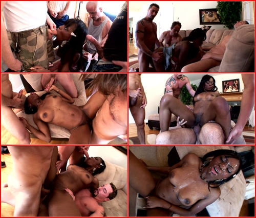 Cocoa Shanelle – Black Teen Gang Bang