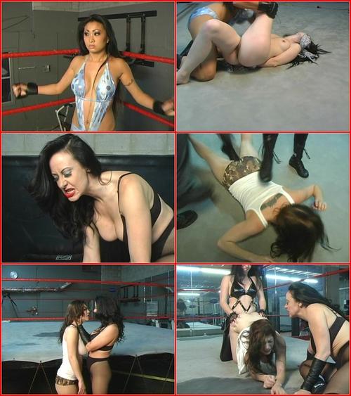 Lesbian Brutal Wrestling 5