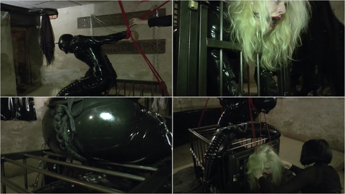Latex Bondage Domination Slave