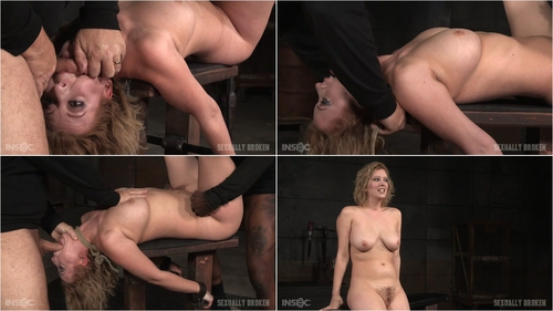 Banging blonde Cherry Torn sybian blasted and roughly fucked by BBC with brutal deepthroat! Jan 13, 2016