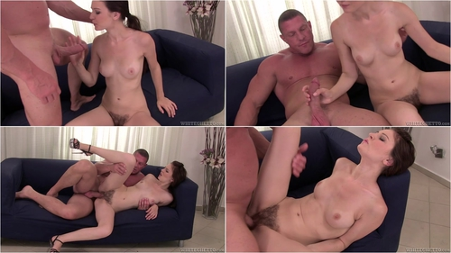 Exclusive scene of Timea Bella only scene with hairy pussy in Real Bushy Beavers
