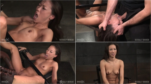 Legendary Kalina Ryu bound and used hard in classic fuck me position with facefucking and vibrators! January 15, 2016