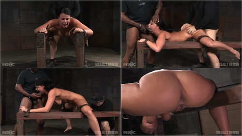 Flexible London River bound and split in half by giant cock with drooling massive orgasms! February 26, 2016