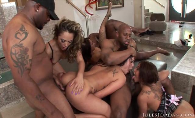Xxxx interracial orgy