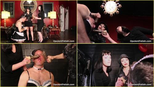 Mistress Natalya Sadici and Goddess Cheyenne - LollyGagging Knob Lobber