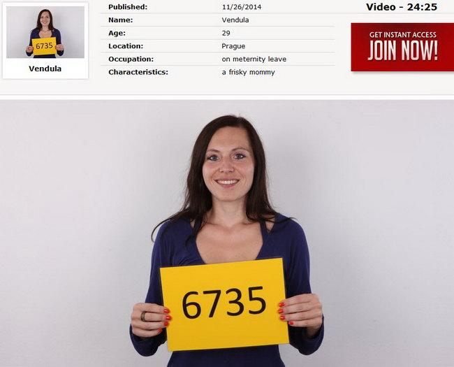 Vendula : Czech Casting 6735 [CzechCasting/Czechav] (2014|HD|720p)