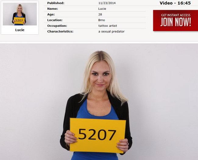 Lucie : Czech Casting 5207 [CzechCasting/Czechav] (2014|HD|720p)