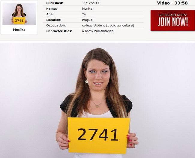 Monika : Czech Casting 2741 [CzechCasting/Czechav] (2014|HD|720p)