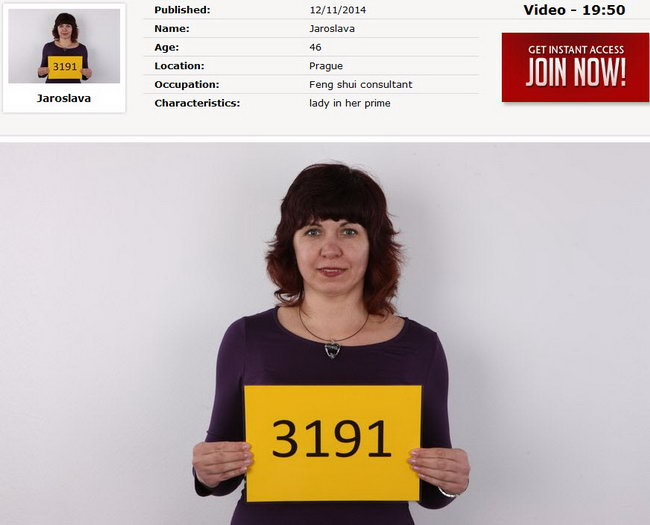 Jaroslava : Czech Casting 3191 [CzechCasting/Czechav] (2014|HD|720p)