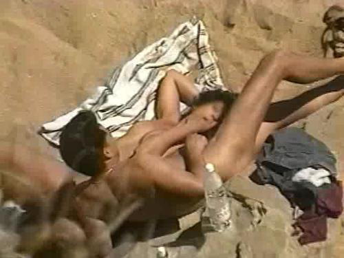 Amateur Mature Wives Nude Beach Fuck!