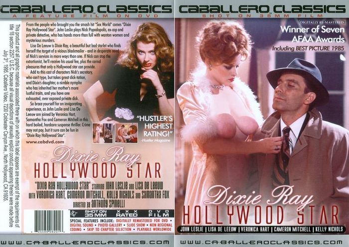 Juliet anderson dixie ray hollywood star 1983 - 1 part 6