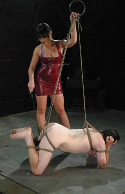 A Slave Milked - Femdom