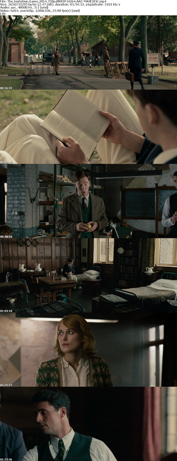 The Imitation Game 2014 720p BRRIP H264 AAC-MAJESTiC
