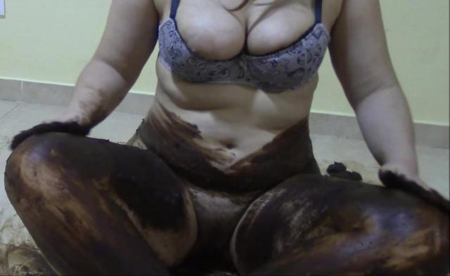 Scat - Fat Girl - Full of shit - Llenisima de mierda [FullHD 1080p]