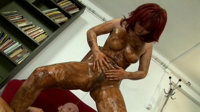 Scat - Mature - Perverted sex shitty mature whore [SD 432p]