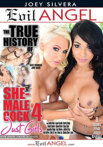 The True History Of She Male Cock 4 (2015) - TS Casey Cumz
