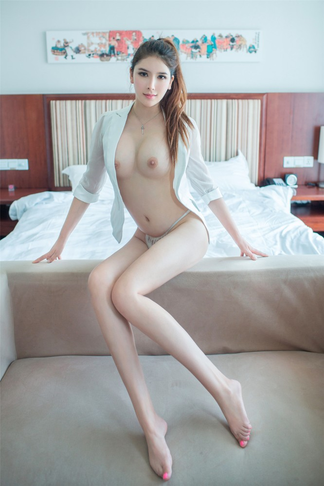 pretty topless chinese