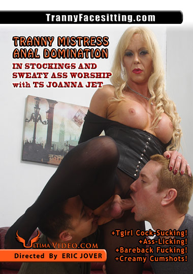 Tranny Mistress Anal Domination In Stockings And Sweaty Ass Worship (2015)