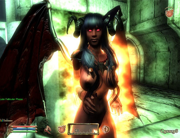 Oblivion Mod MONSTERGIRL for the game The Elder Scrolls 4: Oblivion