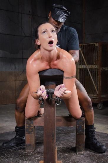 Fit MILF Wenona belted in strict bondage - Bondage, BDSM