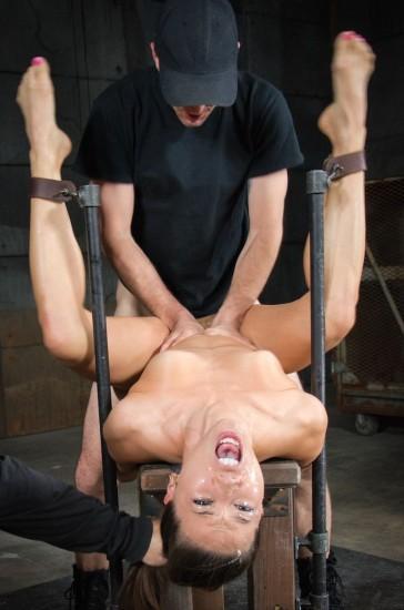 Unbreakable Kalina Ryu restrained - Bondage, BDSM