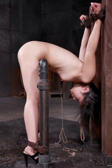 Bondage newbie Asia Zo bent over - Bondage, BDSM