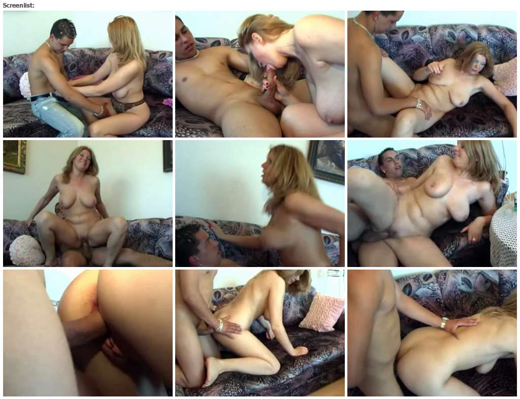Slim hungry mommy opens up for the shaft of her naked son  _mom and son__thumb,