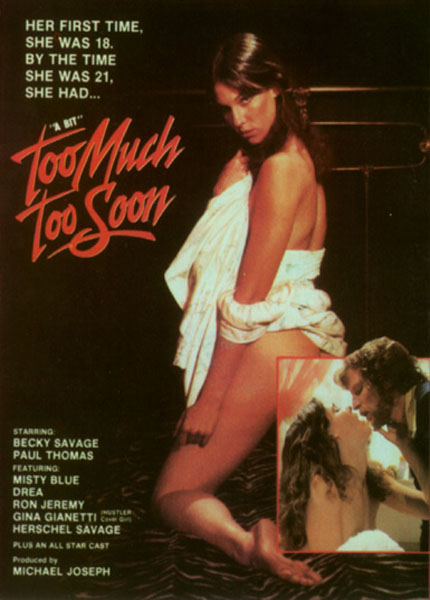 Too Much Too Soon (1983) - Misty Blue