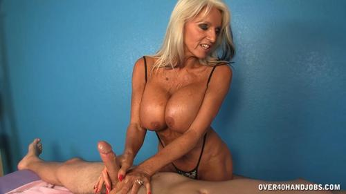 When Russel asks for Sally Dangelo's massage service, she had no idea what was going to happen.