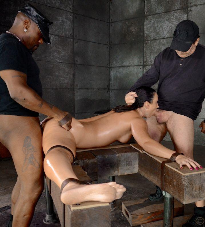 Flexible Wenona bound in the splits - Bondage, BDSM
