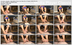 Brat Princess 2: Daniella - Step Mother Gives Cuck Step Son a Footjob (1080 HD)